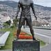 498-20160317_Funchal-Madeira-Avenida Sa Carneiro (beside Funchal Harbour)-statue of Cristiano Ronaldo