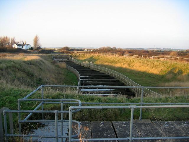 Sluice near Normans Bay