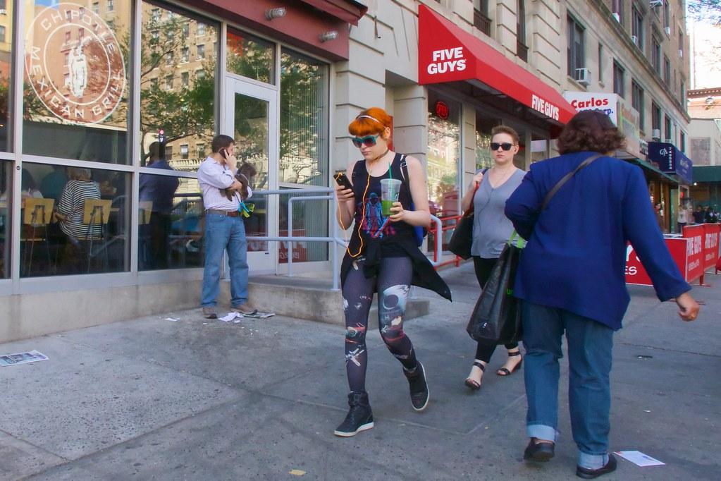 Socially conscious redhead pants for explanation