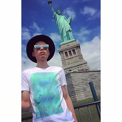 With Liberty and Justice for All! #johnlin #johnfabulin #fabulin #fabulous #fierce #fabulous #luxury #expensive #opulence #mac #Sephora #mua #fashion #Julyforth #independenceday #ny #NYC #newyork #newyorkcity #statueofliberty #art #artist #freedom #beauty