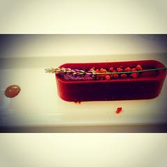 Menjar de xocolata i lavanda al #tastitastets del @casinoperalada amb el xef @marcjoli #marcjoli #topchef #incostabrava #peralada #cosesdeperalada #igerscatalunya #igersGirona