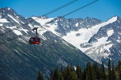 PEAK 2 PEAK Gondola and stunning mountain scenery