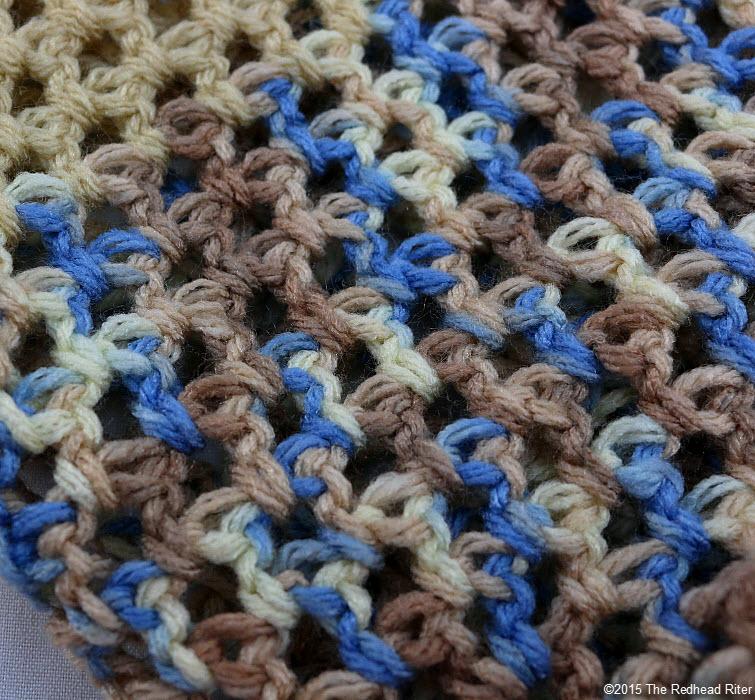 crocheted market bag Putting Positives Together