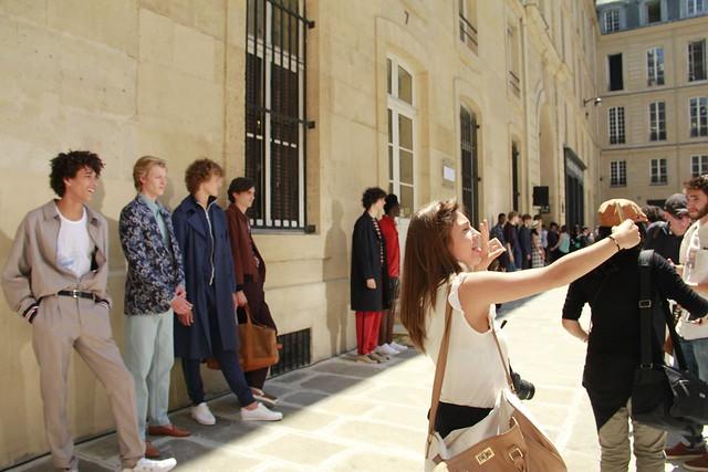 Smartphones at Fashion Week