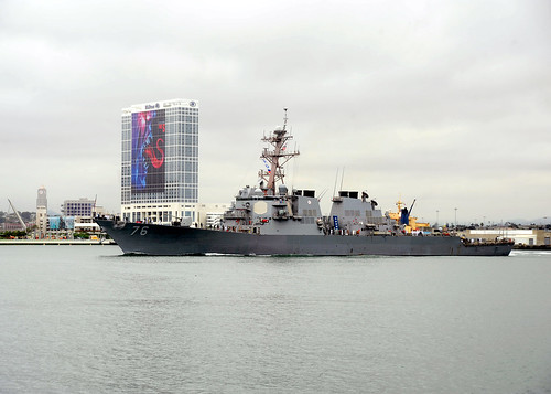 USS Higgins Departs on Deployment