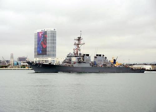 USS Higgins Departs on Deployment
