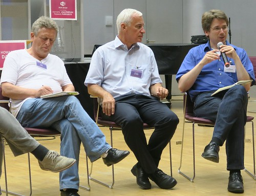 Purplsoc: panel with Hajo Neis, Helmut Leitner, Till Schummer