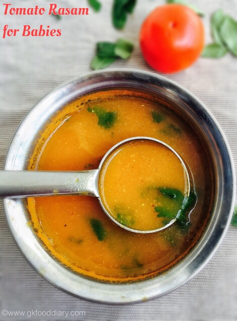 Tomato Rasam for Babies 3