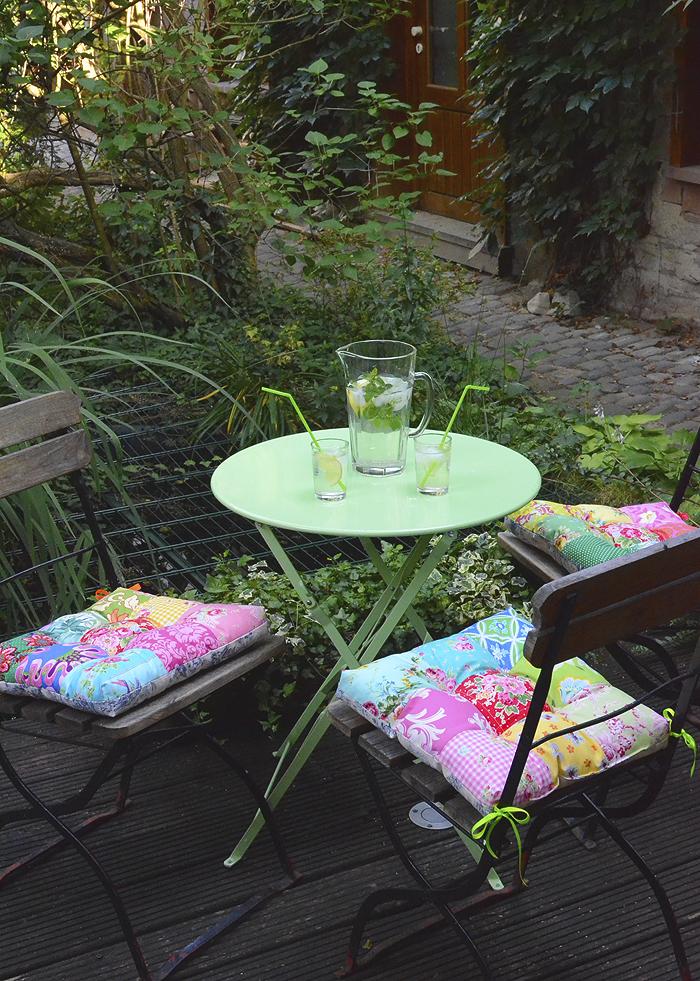 Garden Chair Cushion Tutorial
