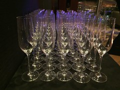 purple, drinkware, stemware, glass, lighting,