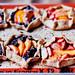 mini peaches & berries galettes by mohini :: mangopowergirl.com