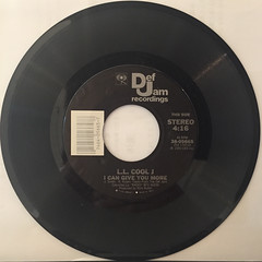 L.L. COOL J:I CAN GIVE YOU MORE(RECORD SIDE-A)