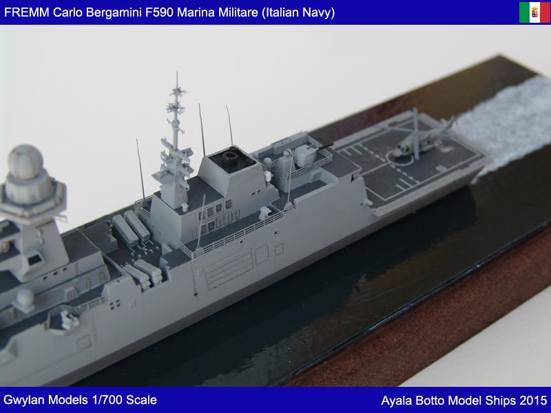 FREMM Carlo Bergamini F590 Frégate - Gwylan Models 1/700 19776618585_799709ac5d_o