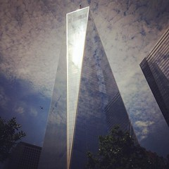 #NewYorkCity #Manhattan #FreedomTower #architecture #skyscrappers #911Memorial