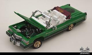 Cadillac Fleetwood Le Cabriolet 1/10 in Lego