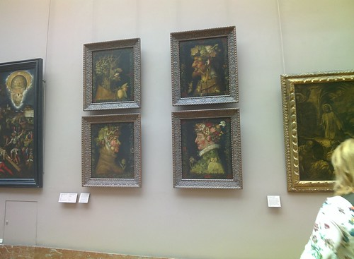 Arcimboldo at the Louvre #throughglass