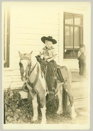 Child on a Pony