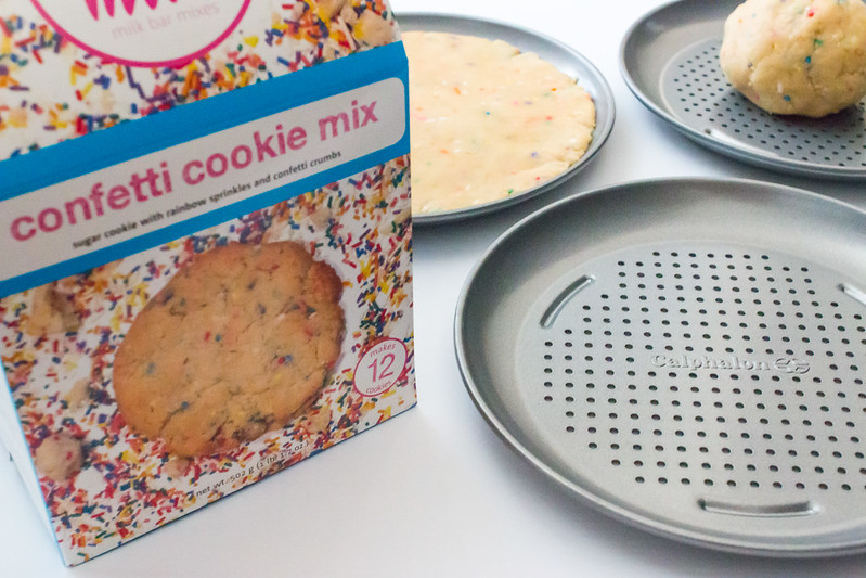 Semi-homemade Momofuku Milk Bar Confetti Cookie Cakes