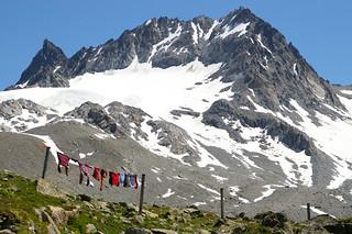 Piz Val Mura mit Gletscher