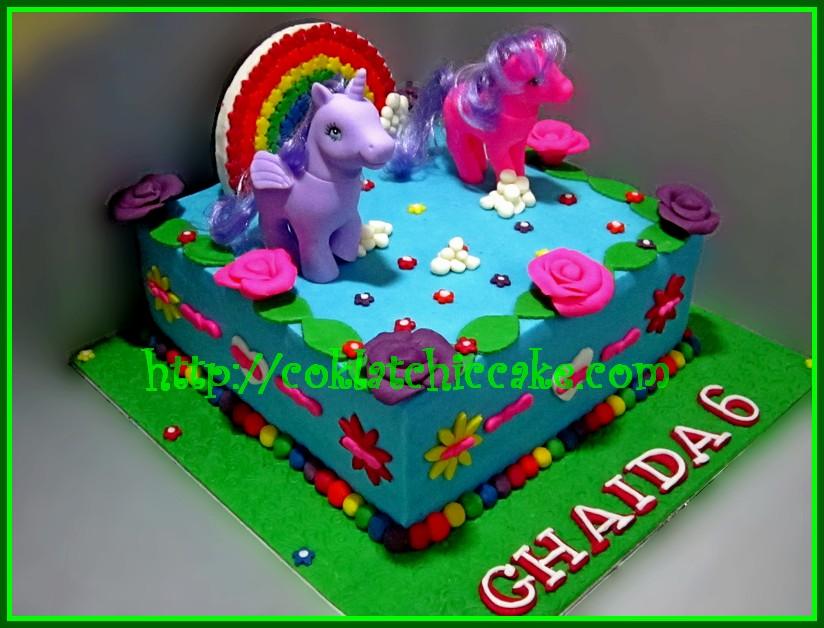 Cake My Little Pony Ghaida Coklatchic Cake