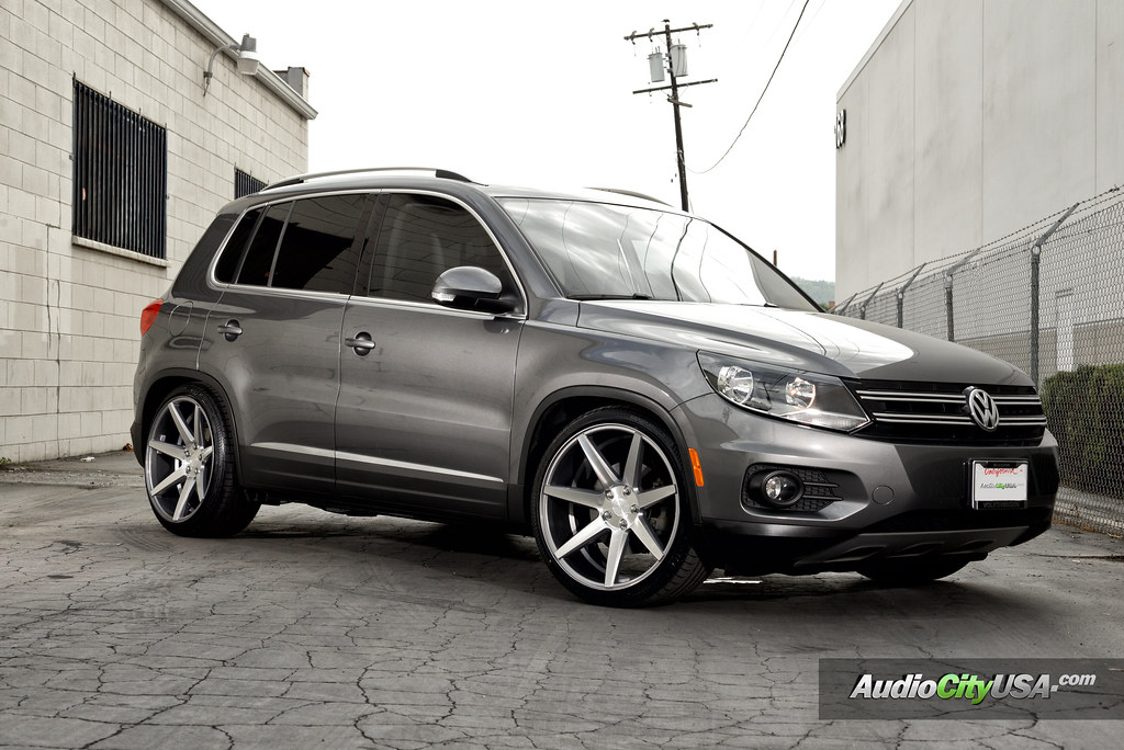 "Elk Grove Vw >> STANCED ---> 2013 Volkswagen Tiguan 2.0 TSI on 20"" Rennen ..."