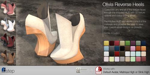 FATEstep - Olivia Reverse Heels