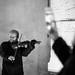 Shooted street musician by SibretManu