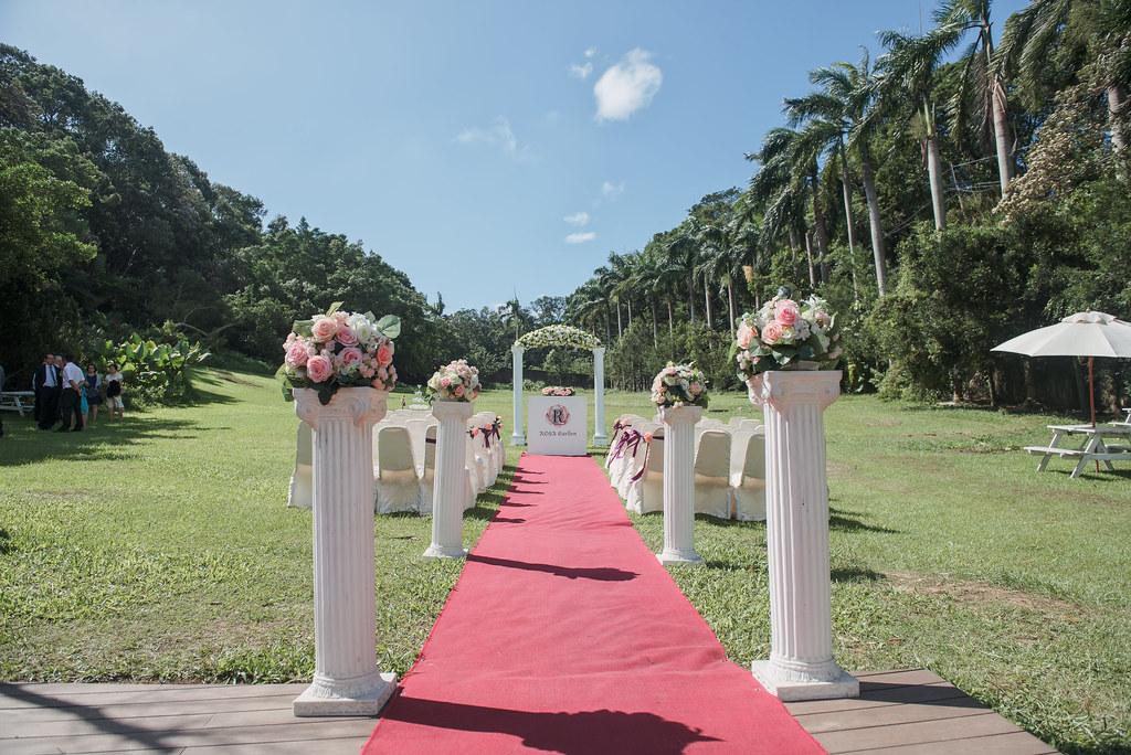 001羅莎會館 戶外婚禮