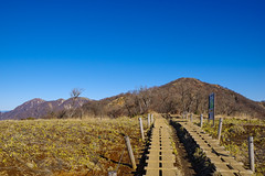 塔ノ岳と蛭ヶ岳(左奥)@花立