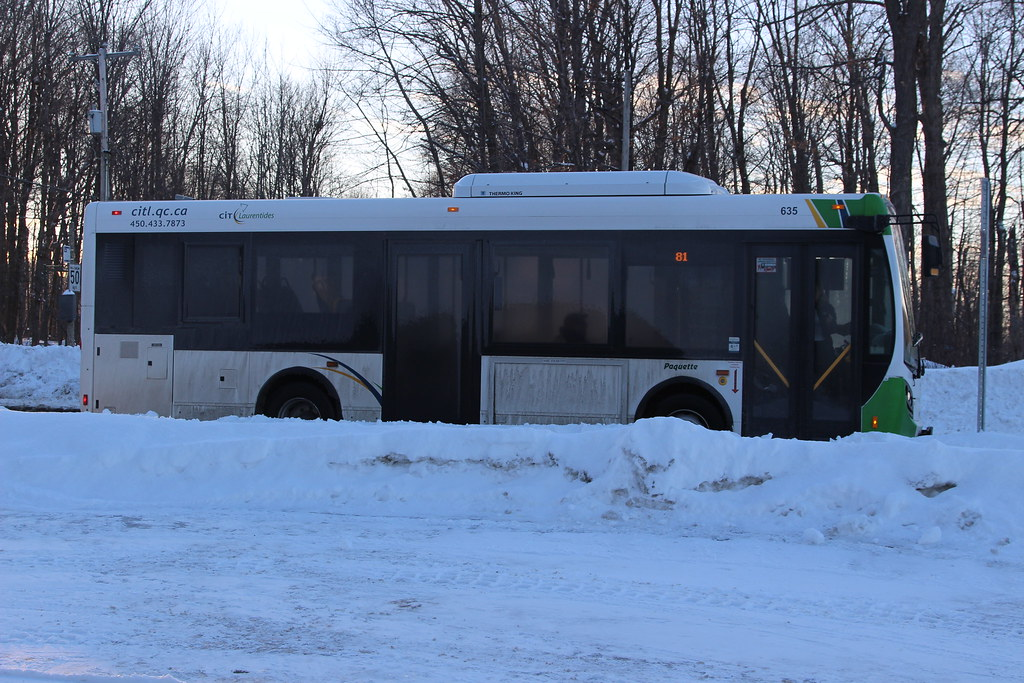 CIT Laurentides New Flyer MiDi 635