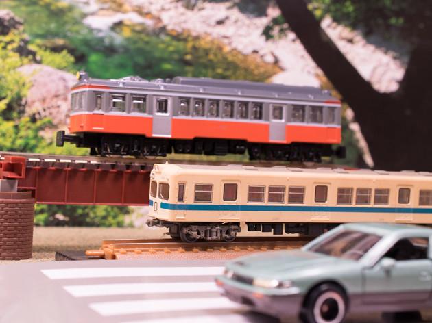 レビュー トレーン NゲージダイキャストスケールモデルNo.8 箱根登山鉄道