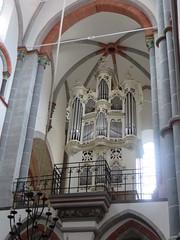 Orgues, église romane St Peter (XIIIe), Bacharach, landkreis Mainz-Bingen, Rhénanie-Palatinat, Allemagne.
