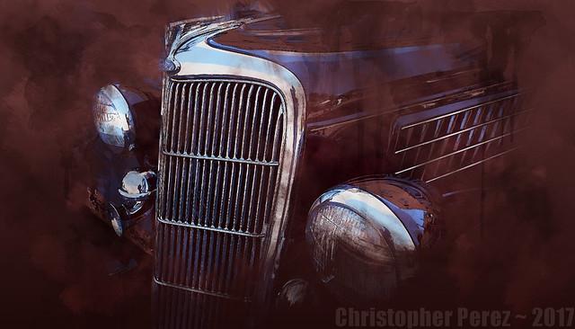 Hot Rod ~ l'art et la voiture