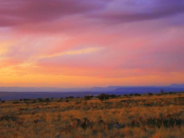 Sunset Mesas