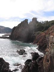 Coastline near La Napoule