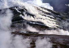 White Island Volcano - steaming dome