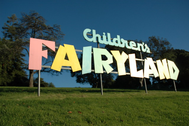Children's Fairyland sign