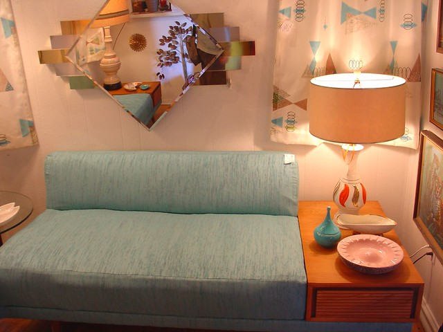 Retro Living Room Set