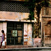 woman across the street, Havana