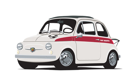 Abarth_595ss by boogerballs
