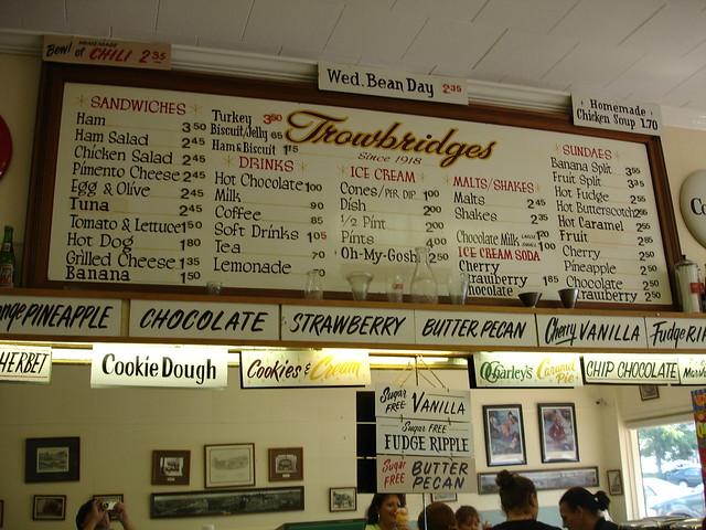 Order Board, Trowbridge's, Florence AL