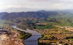 Huntly and the Waikato River, New Zealand, 1991