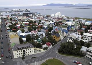 Across Reykjavik (left)