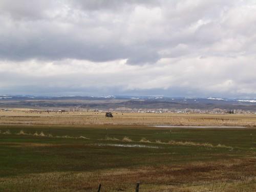 Wyoming Highway 89 Between Woodruff, Utah and Evanston, Wyoming