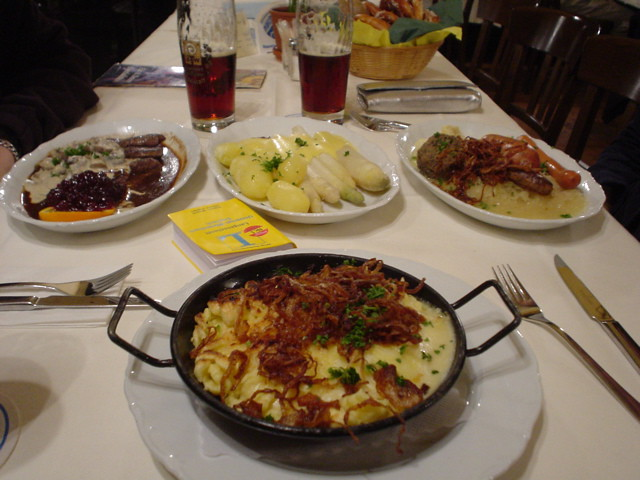 Barvarian Food