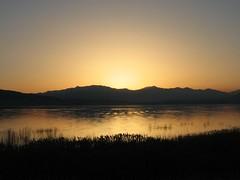 Sunset at Utah Lake