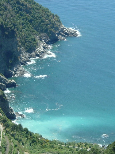 Guvano beach ideal swimming spot in Cinque Terre