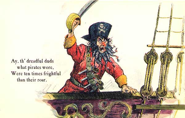 Pirates of the Caribbean postcard