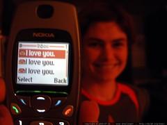 text messages: i love you. i love you. i love you. d…