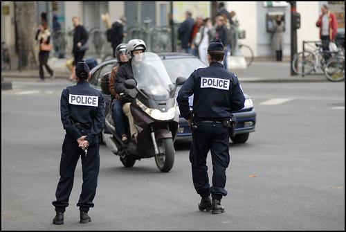 Embusquade de police
